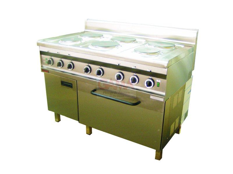 kuchnie  DOSTAWCA URZĄDZEŃ GASTRONOMICZNYCH -> Kuchnia Elektryczna Z Piekarnikiem Elektrycznym