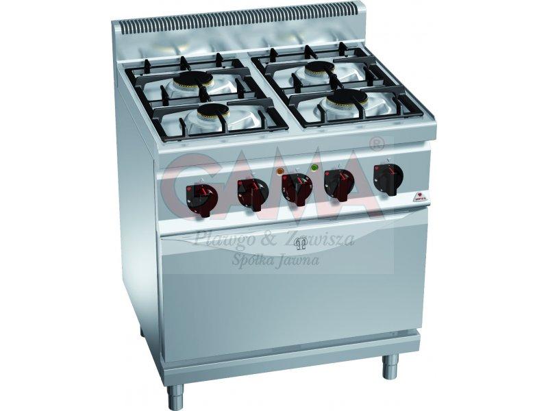 Kuchnia Gazowa Z Piekarnikiem Elektrycznym Bertos